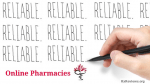 Guidelines: Reliable online pharmacies